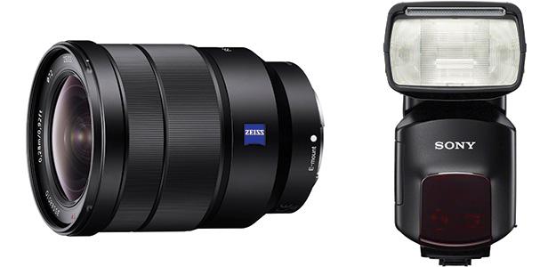 Sony Vario-Tessar T* FE 16-35mm F4 ZA OSS and HVL-F60M External Flash