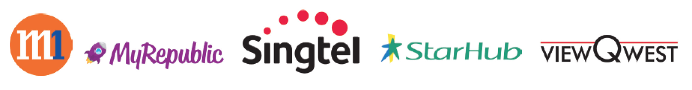 Telco Logos Singapore