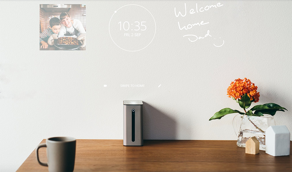 Xperia Touch wall projection