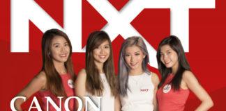 Canon Photomarathon NXT magazine cover mockup with participants