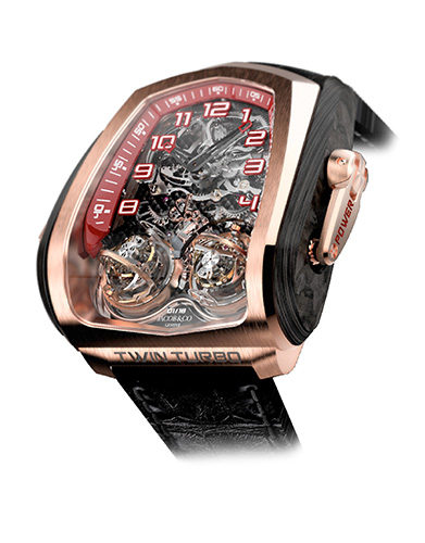 Jacob & Co. Twin Turbo Rose Gold