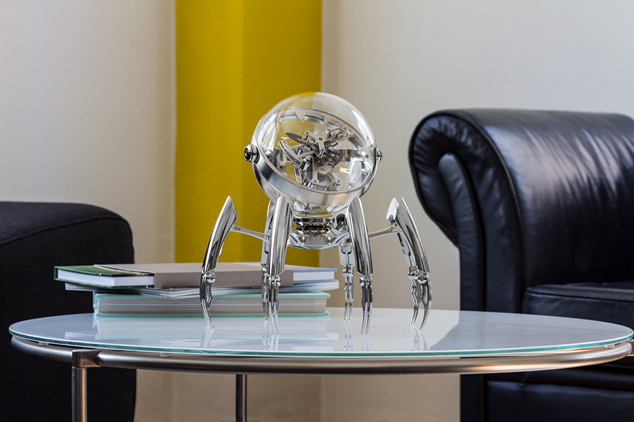 MB&F Octopod on a table