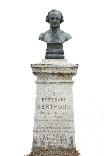 Ferdinand Berthoud bust