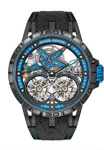 Excalibur Spider Pirelli - double flying tourbillon version