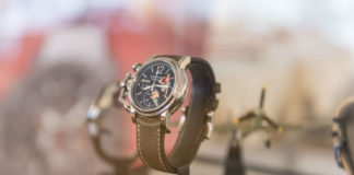 Graham Silverstone RS GMT in case