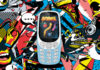 Nokia 3310 3G on cartoon background