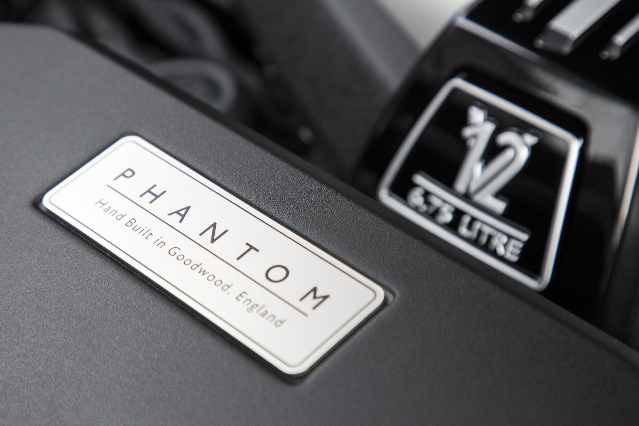 Rolls-Royce Phantom symbol