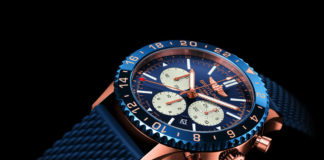 Breitling Chronoliner B04 limited edition with black background