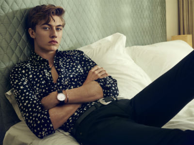 Classic Cornwall, worn by Lucky Blue Smith