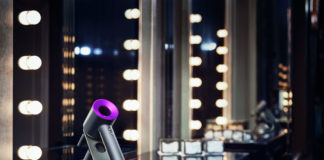 Dyson Supersonic Hair Dryer on Dressing Table
