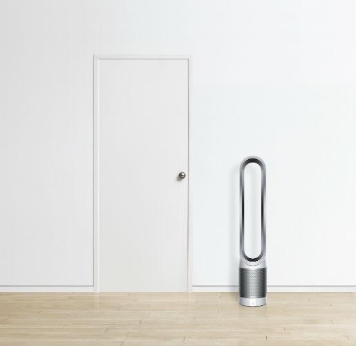Dyson Pure Cool Link Purifier Fan next to door