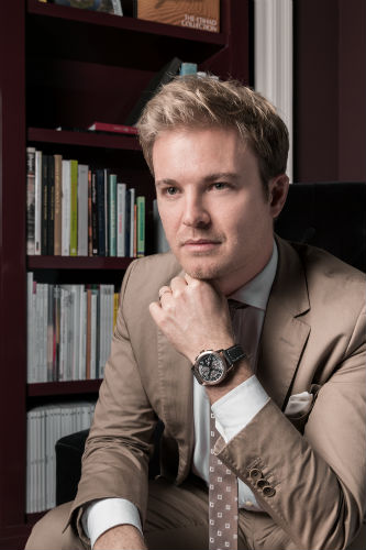 "Nico Rosberg wearing Ingenieur Chronograph ""Tribute to Nico Rosberg"""