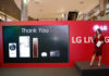 LG Home Appliances showcase at LG Living