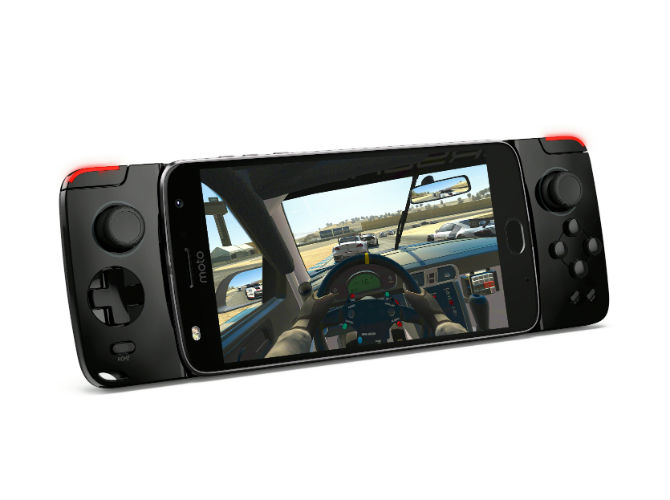 Moto Gamepad front view