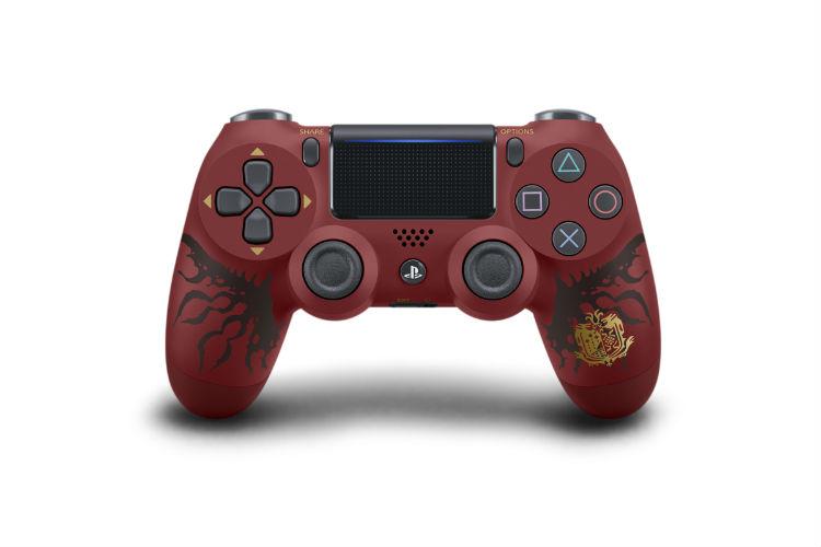 PS4 Pro Monster Hunter: World Ratholos Edition Dualshock 4 wireless controller