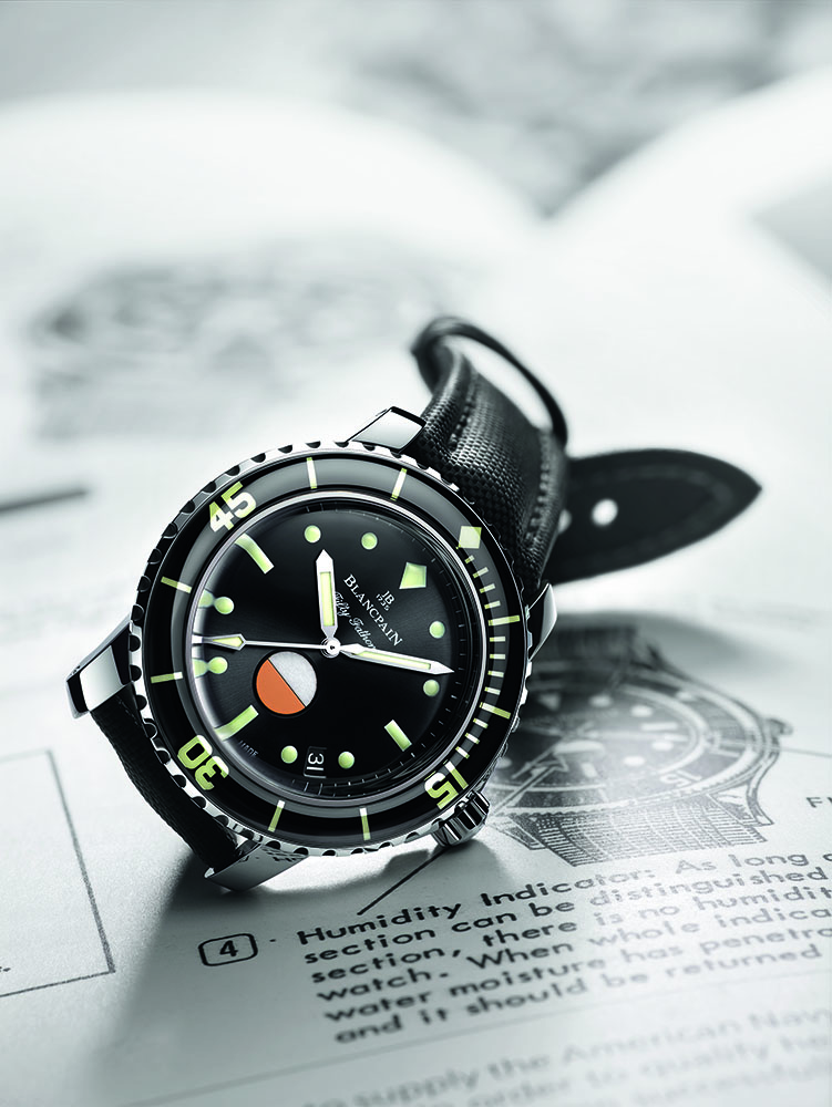 Blancpain Tribute To Fifty Fathoms MIL-SPEC on paper