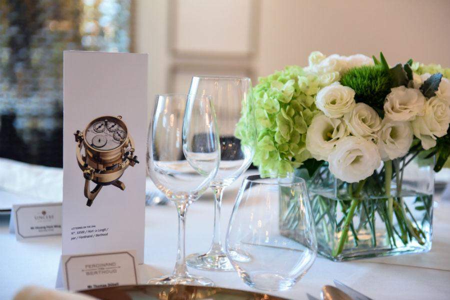 Table at Chronometre Ferdinand Berthoud FB 1.4 event