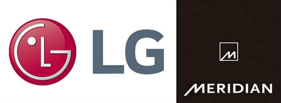 LG and Meridian logos