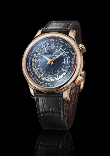 L.U.C Time Traveler One Singapore Edition in rose gold