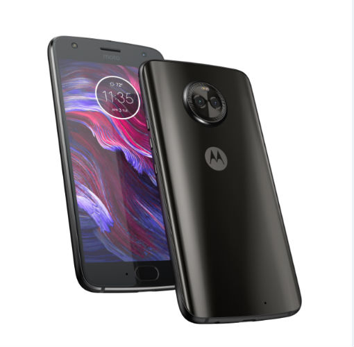 Motorola Moto X4 in Super Black