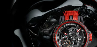 Roger Dubuis Excalibur Spider Pirelli in Red
