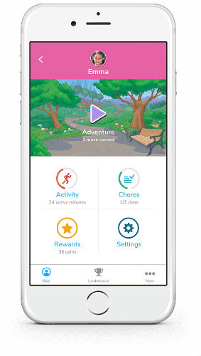vivofit jr. 2 mobile app