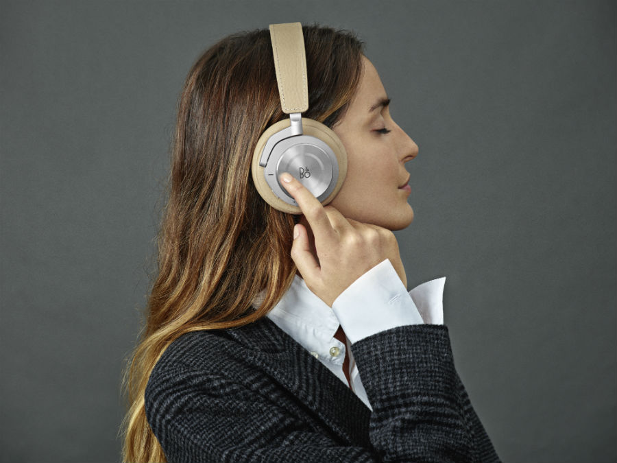 Woman wearing Beoplay H8i