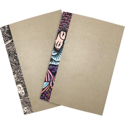 Eko Nugroho's art on a set of notebooks