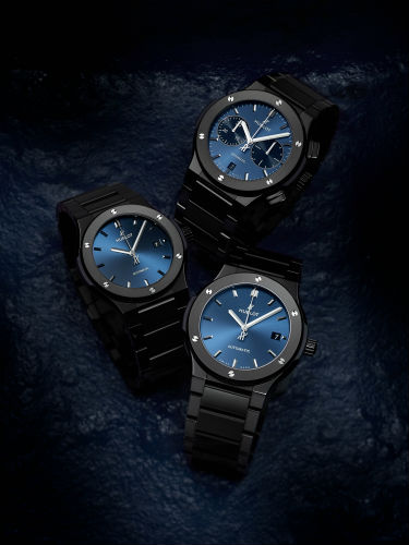 Hublot Classic Fusion All Ceramic in blue