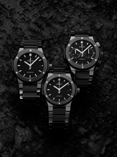 Hublot Classic Fusion All Ceramic in black