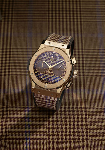Hublot Classic Fusion Italia Independent in Prince of Wales check