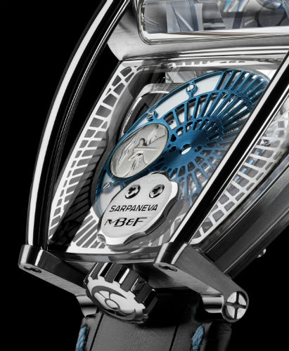 MB&F MoonMachine 2 in titanium