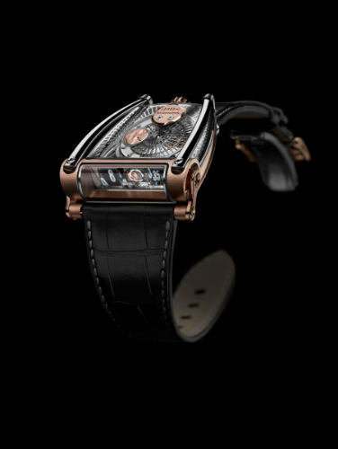 MB&F MoonMachine 2 in rose gold and titanium