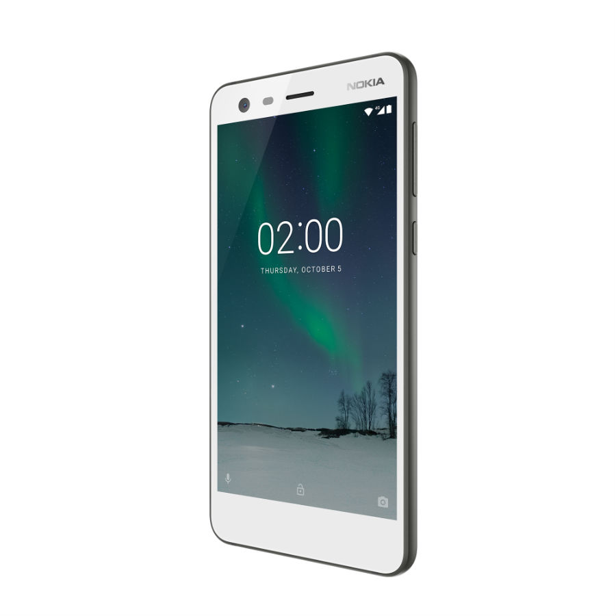 Nokia 2 in pewter/white