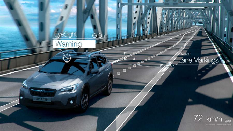 Subaru EyeSight technology