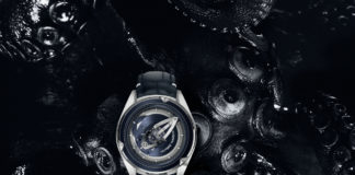 Ulysse Nardin Freak Vision against octopus background