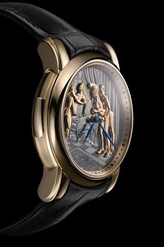 Ulysse Nardin Classic Voyeur in rose gold