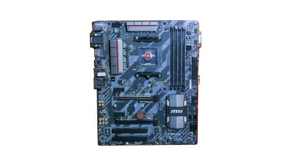 Closeup on AMD Ryzen APU
