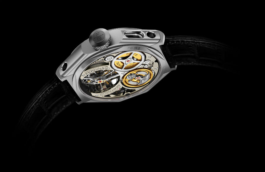 Chronometre FB-1R.6-1 view of back