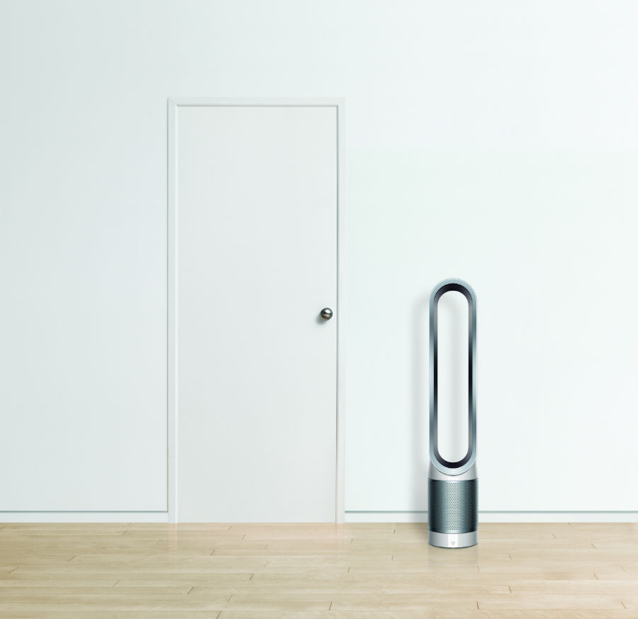 Dyson Pure Cool Link next to door