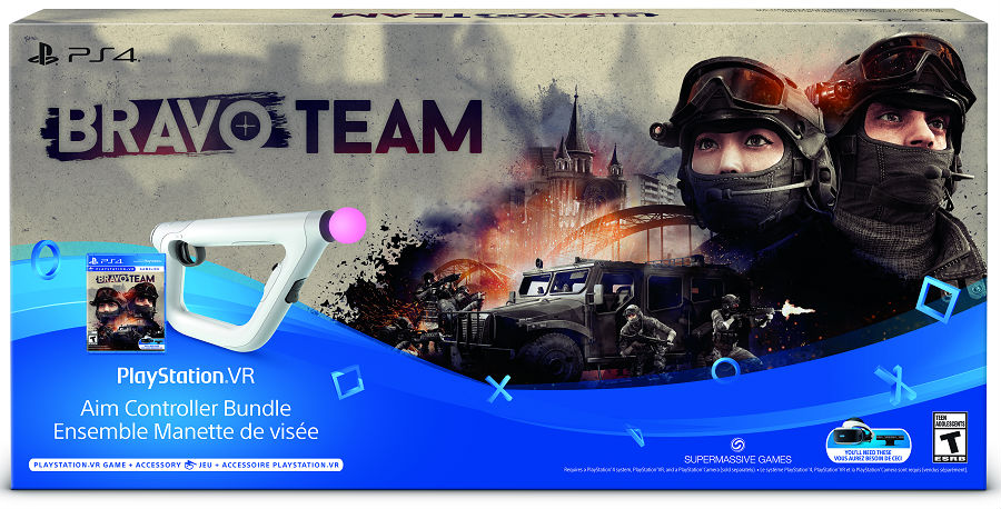 Bravo Team PSVR aim controller bundle