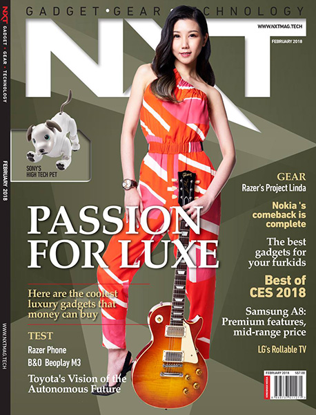 NXT February 2018 Cover