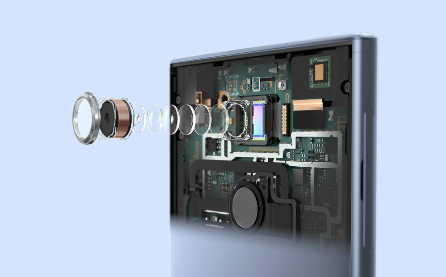 Sony Xperia XA2 Ultra camera lens breakaway