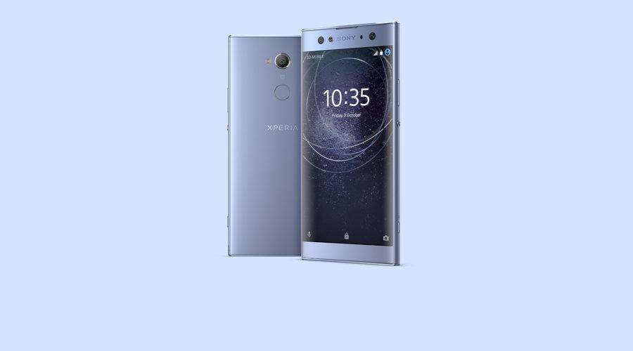 Sony Xperia XA2 Ultra in blue