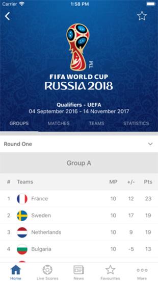 FIFA Official App