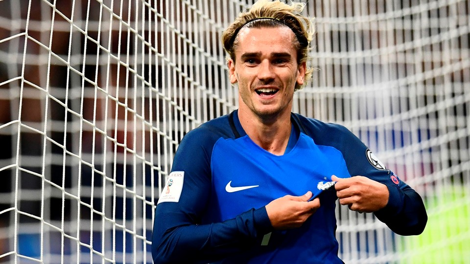 French goalkeeper Griezman