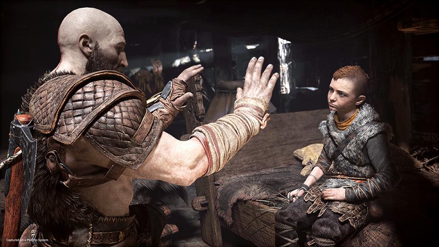 Kratos and Atreus