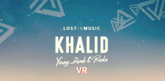 Khalid Young Dumb & Broke VR poster