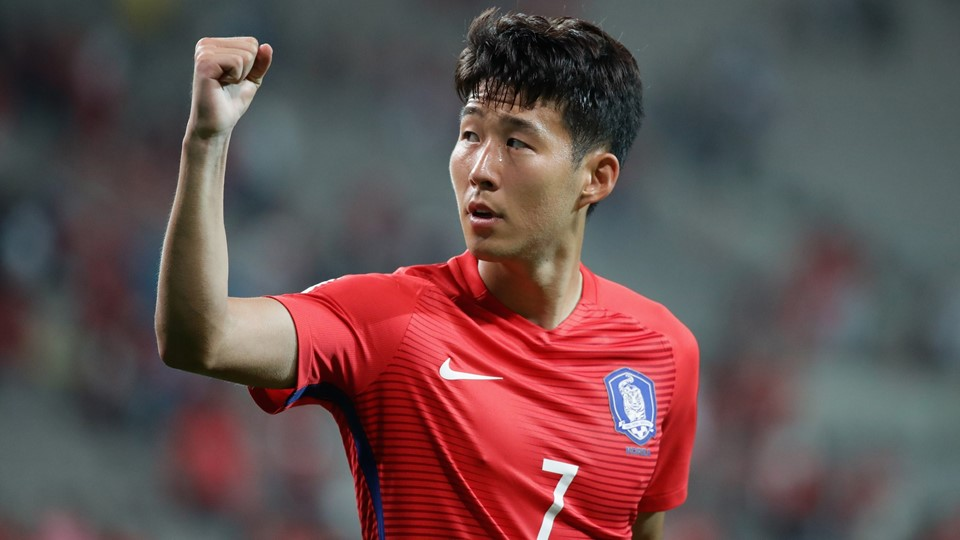 South Korea's Song Heungmin