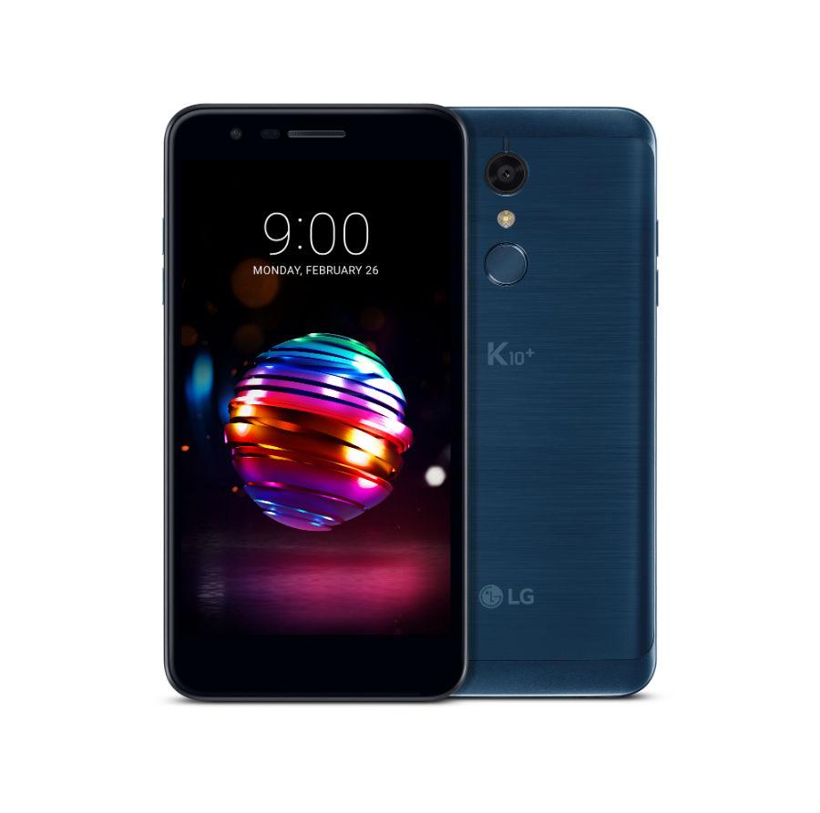 LG K10 in Moroccan Blue